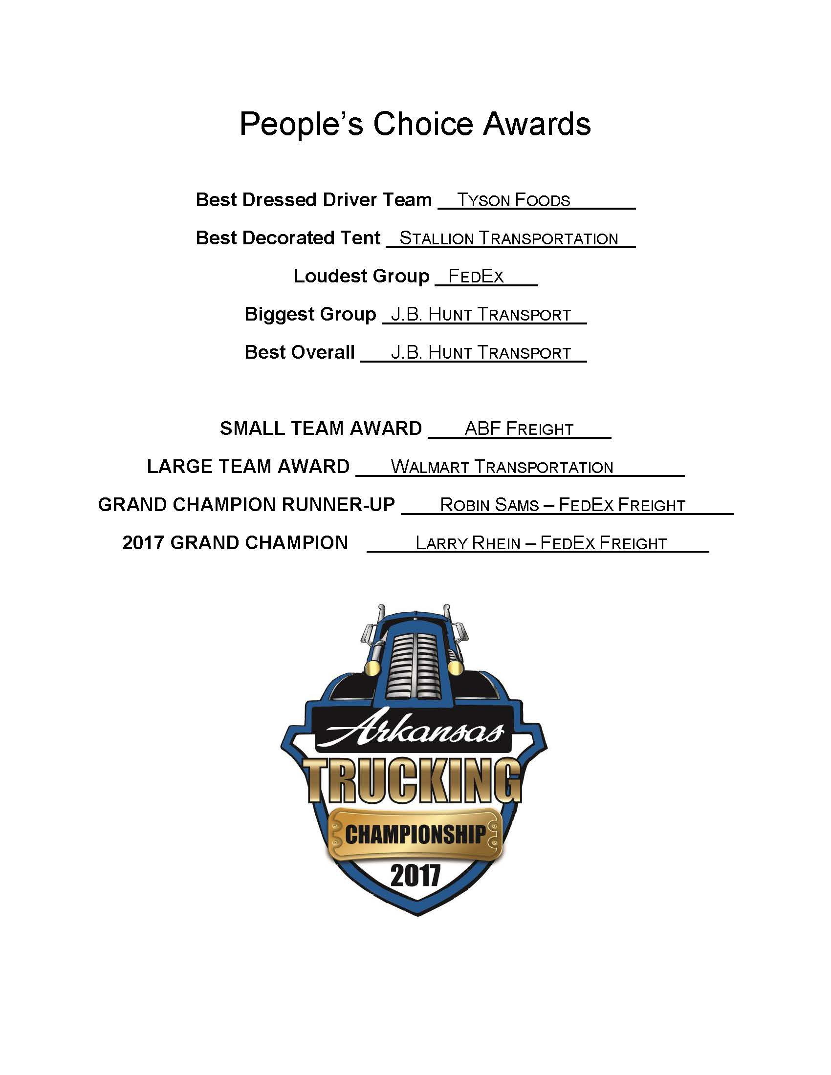 2017 Truck Driving Championship Winners Page 3