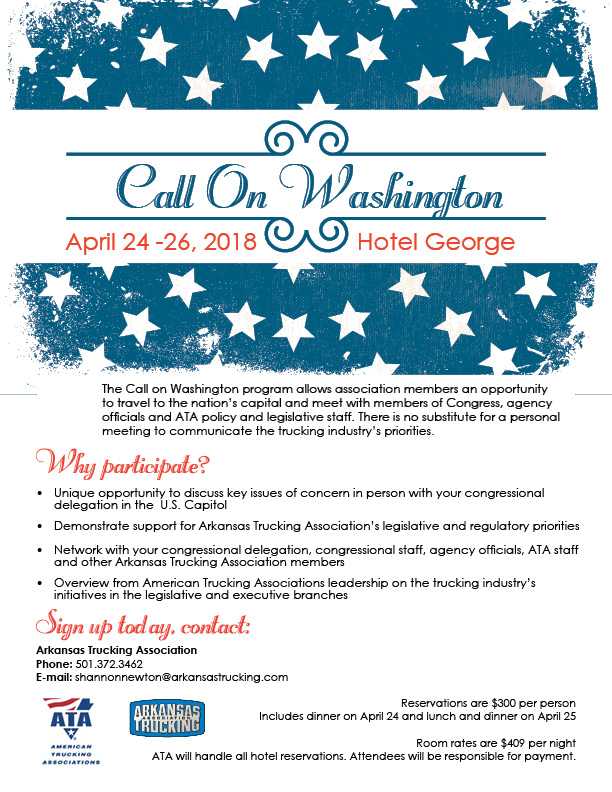 2018 Call on Washington web flyer
