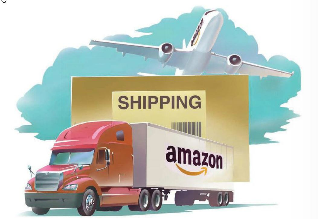 amazon truck illustration