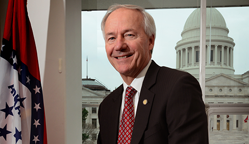 Arkansas Govenor Asa Hutchinson